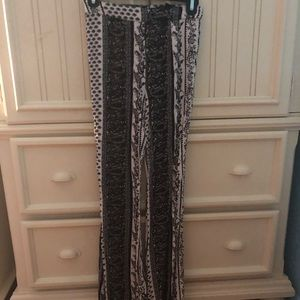 Forever 21 flowy patterned pants